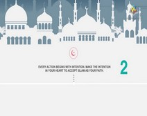 5 Steps to Become Muslim