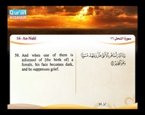 Recited Quran with Translating Its Meanings into English (Audio and video – Part 14 - Episode 5)