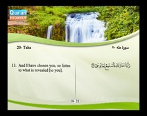 Recited Quran with Translating Its Meanings into English (Audio and video – Part 16 - Episode 5)