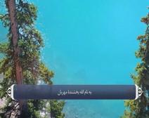 القرآن الكريم - آية آية - مع ترجمة معانيه إلى اللغة الفارسية ( 113 ) سورة الفلق