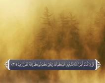 القرآن الكريم - آية آية - مع ترجمة معانيه إلى اللغة الفارسية ( 003 ) سورة آل عمران