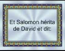 La vie des prophètes dans le Coran [03] La vie du prophète Soulaymen (Salomon) (Histoire avec la Reine de Sabaa)