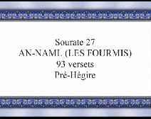 Le Coran en vidéos sous-titrées [027] Les Fourmis : première partie (par Cheikh Abou Bakr Chatery)