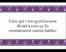 Le Coran en vidéos sous-titrées [034] Saba : seconde partie (par Machary Ibn Rached Al-Afassy)