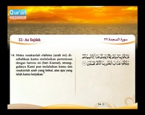 المصحف المرتل مع ترجمة معانيه إلى اللغة الإندونيسية ( الجزء 21 ) المقطع 6