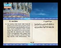 Mushaf murattal dengan terjemahan maknanya ke dalam bahasa Indonesia (Juz 25) Bagian 2
