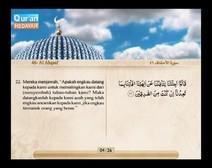 Mushaf murattal dengan terjemahan maknanya ke dalam bahasa Indonesia (Juz 26) Bagian 2