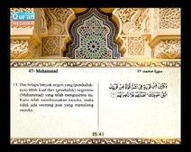 Mushaf murattal dengan terjemahan maknanya ke dalam bahasa Indonesia (Juz 26) Bagian 3
