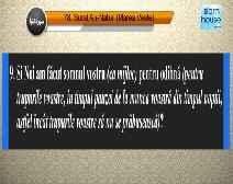 Traducerea sensurilor Surei An-Naba' în limba română, însoţită de recitarea lui Mishary bin Rashid Al-Afasi