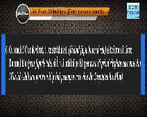 Traducerea sensurilor Surei Al-Inshiqaq în limba română, însoţită de recitarea lui Mishary bin Rashid Al-Afasi