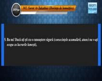 تلاوة سورة التكاثر مع ترجمة معانيها إلى اللغة الرومانية  ( القارئ مشاري بن راشد العفاسي )