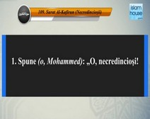 تلاوة سورة الكافرون مع ترجمة معانيها إلى اللغة الرومانية  ( القارئ مشاري بن راشد العفاسي )