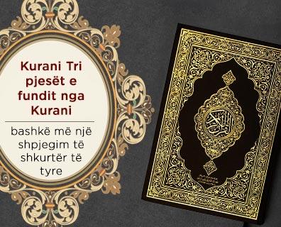 Kurani Tri pjesët e fundit nga Kurani, bashkë më një shpjegim të shkurtër të tyre