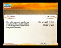 المصحف المرتل مع ترجمة معانيه إلى اللغة الفلبينية التجالوج ( الجزء 21 ) المقطع 6