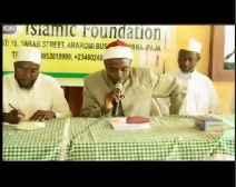 Ojuse Imam ninu Islam - 1
